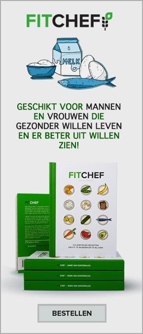 Boek FitChef, gezond eiwit eten.