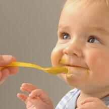baby eerste groente